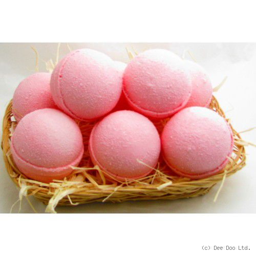 Cherry Medium Bath Bomb by Dee Doo